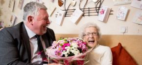 One Vision Housing customer celebrates 100th birthday