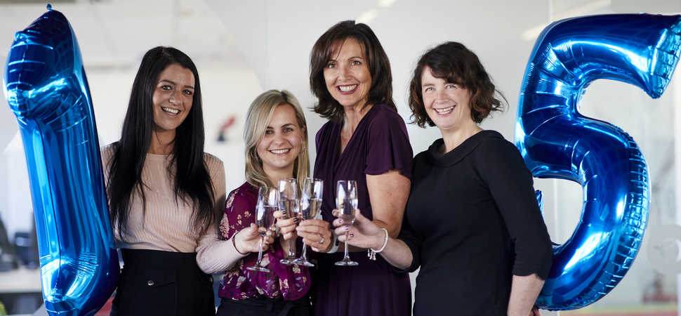 Manchester business celebrates fifteen years of putting people first