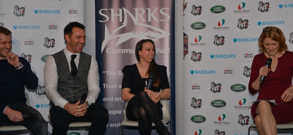Sporting legends join Community Trust to help raise £21,000 for a new minibus