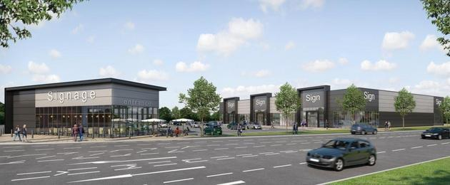 Green Light For Next Phase At Parsonage Retail Park