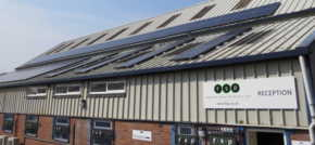 Manufacturer goes green with solar investment