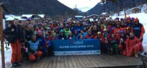 Teams hit the slopes as AJ Bell backs Alpine charity challenge
