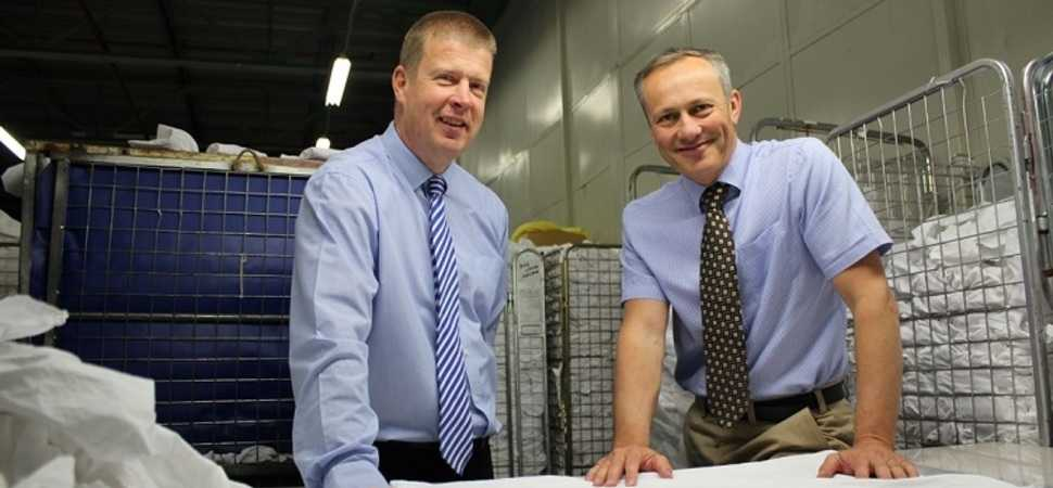 Regenexs linen stain removal operations expand with new business take-up  including a Bradford neighbour