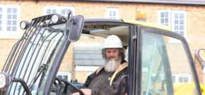 Forklift driver celebrates 30 years service