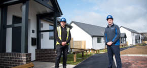 First Passivhaus social housing scheme handed over in Powys