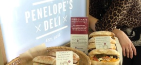 Penelopes Deli at MediaCityUK fights local food poverty with Foodinate