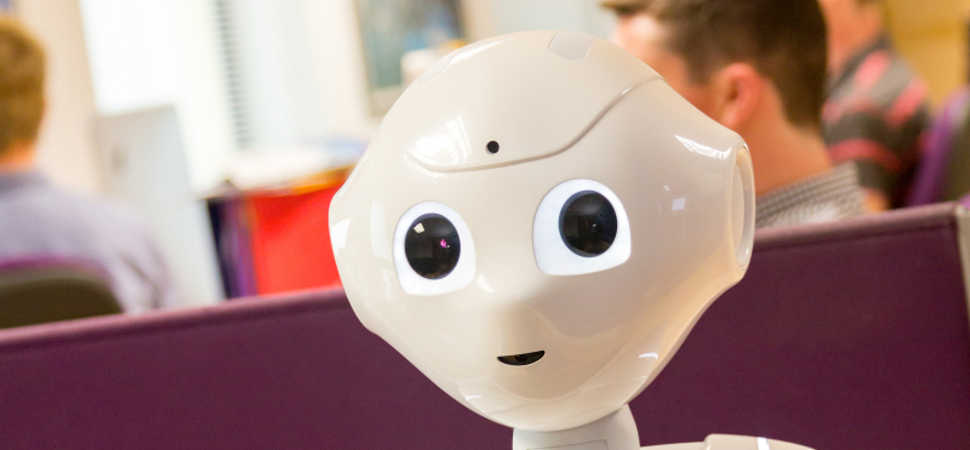 Pepper to make TV appearance - on debate about the impact of robots