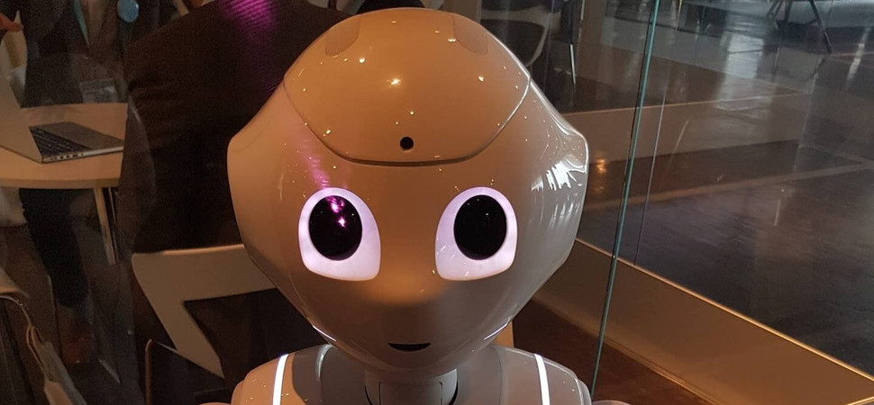 People interact with robots for longer - when talking about wine