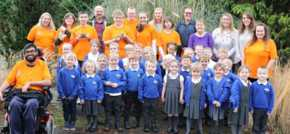 Primary school children treated to animal masterclass
