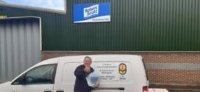 Cleaning product manufacturer supports local charities with bio-cleaning solution