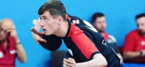Table tennis star selected to represent country