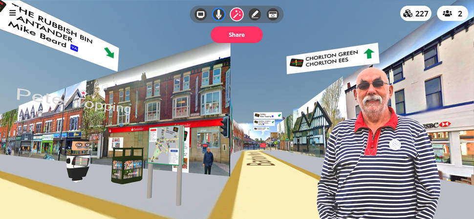 The show must go on Chorlton Arts Festival goes virtual to stage popular event