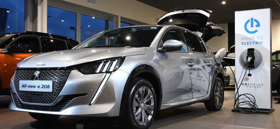 Simon Bailes Peugeot boosts the EV revolution with charge point offer