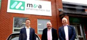 Leading pharmaceutical firm secures £4.7million funding deal