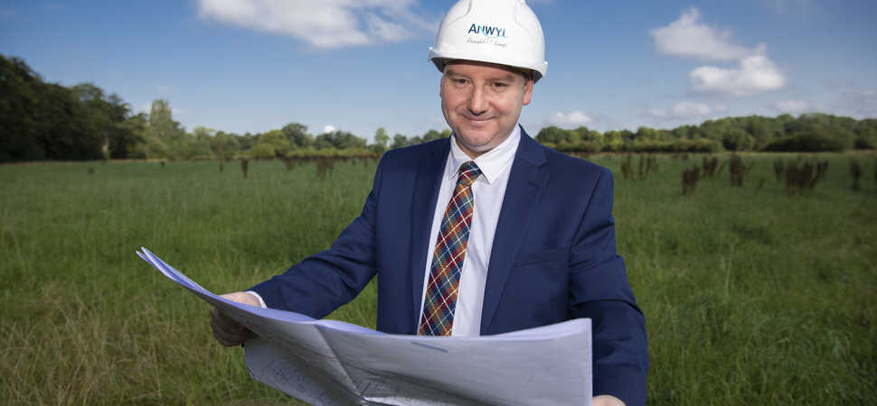 Anwyl breaks ground in Abergele