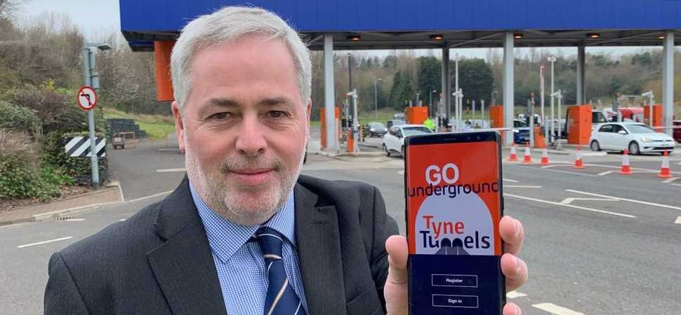 First look Tyne Tunnel operators launch new app to improve customer experience