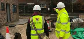 Contractors make site considerations for local autistic boy