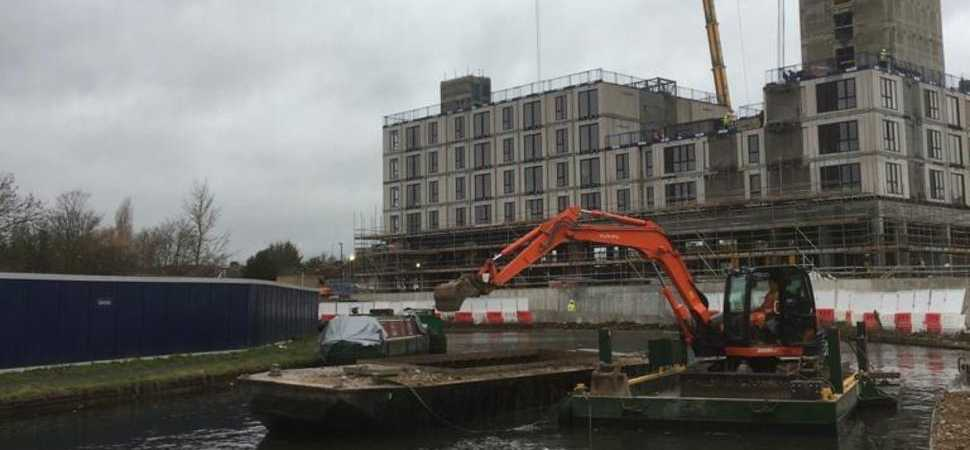 Waterways a vital asset in UK urban construction