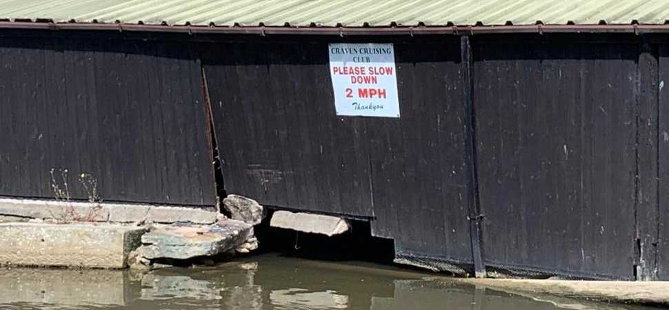 Fixing a boathouse blunder