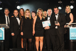 Axon Scoops Business of the Year at North East Cheshire Business Awards