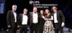 Social Enterprise Wins Industry Recognised CIPS Supply Management Award