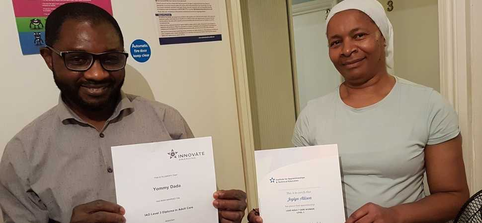 Youre never too old to learn! Hackney carers complete apprenticeships in their 50s