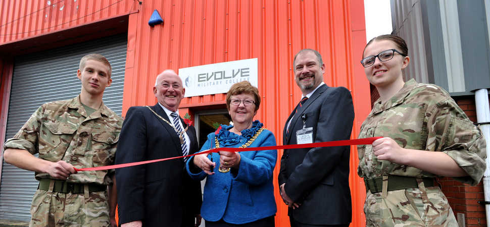 Evolve Military College's New Burnley Centre Open Event Hailed A Huge Success