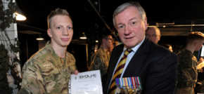 Evolve Military College Burnley Celebrates First Success Story