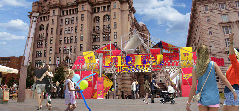 The Pier Head Village comes to Liverpool's waterfront...