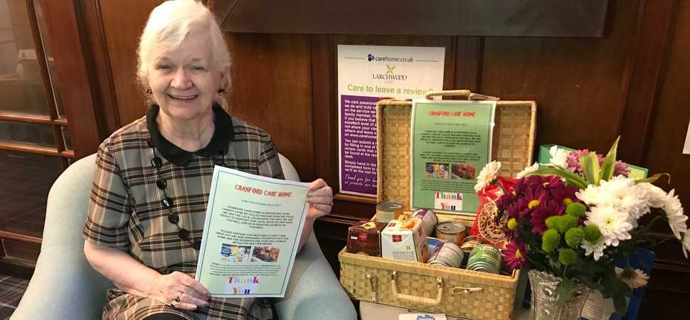 Care home residents spread joy before festive season