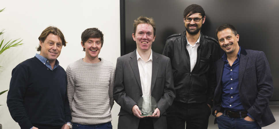 Social Burst wins £10k office space prize in Orega's Liverpool StartMeUp Pitch