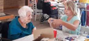 Norwich care home hosts intergenerational Go Green Junk Modelling Day