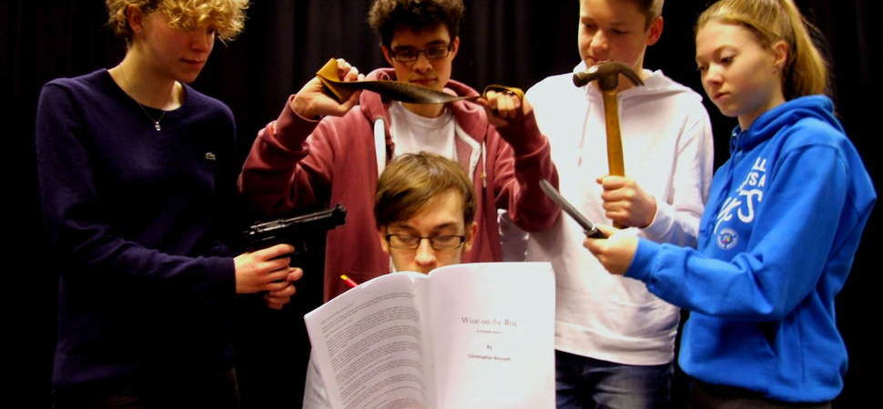 Budding young playwright from Altrincham sees first play performed