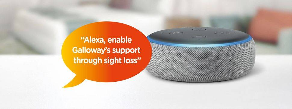 Sight loss charity Galloway's launch Alexa skill to help reduce social isolation