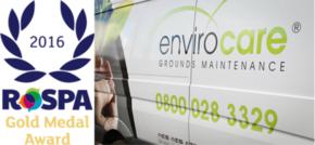 Envirocare Maintenance Solutions Celebrates RoSPA Gold Medal Award
