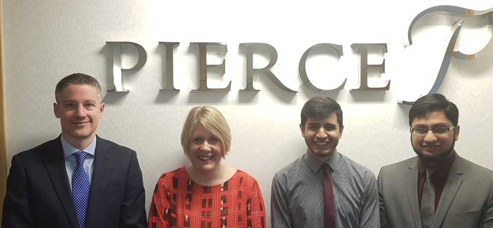 They're hired! Trio of starters join Lancashire firm Pierce
