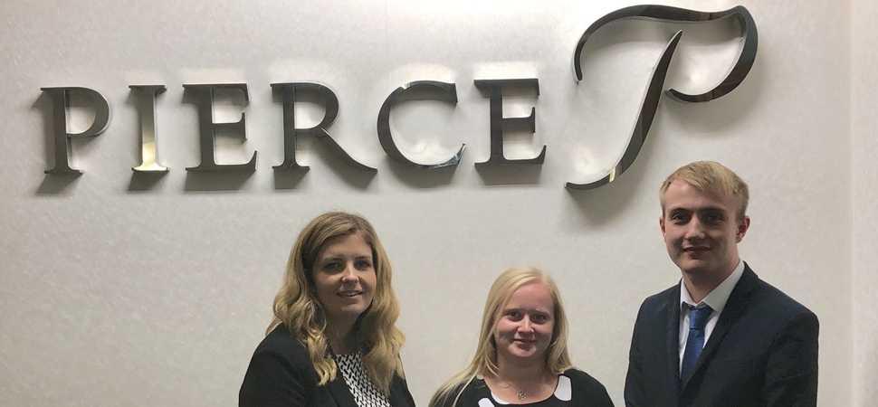 Pierce recruits five new starters following recruitment drive