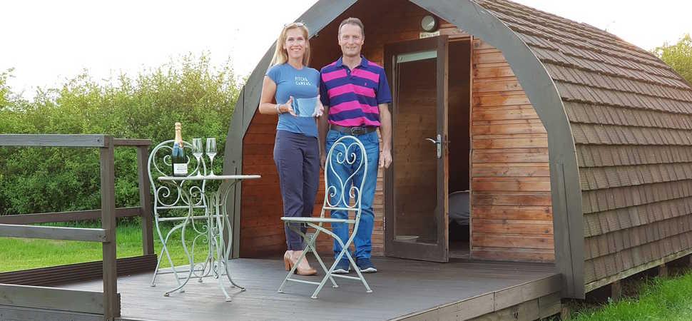 1st birthday award for family-run camping company