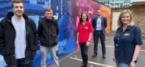 History Wall Tells Story Of Charity