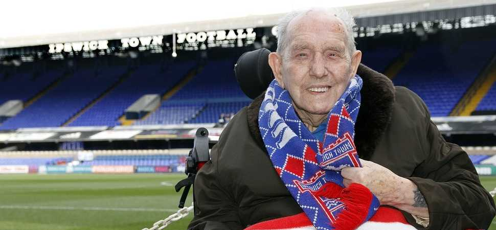 Ipswich resident becomes man of the match thanks to care home