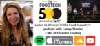 Podcast & Interview with Lesley Stonier CMO of Forward Fooding