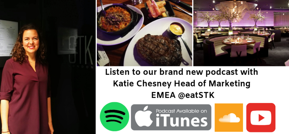 Women In The Food Industry podcast with Katie Chesney of The One Group