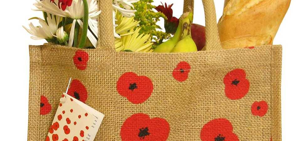 Shoppers Raise £1million For Royal British Legion By Using Reusable Jutexpo Bags