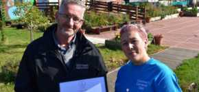 Port Clarence celebrates in bloom award