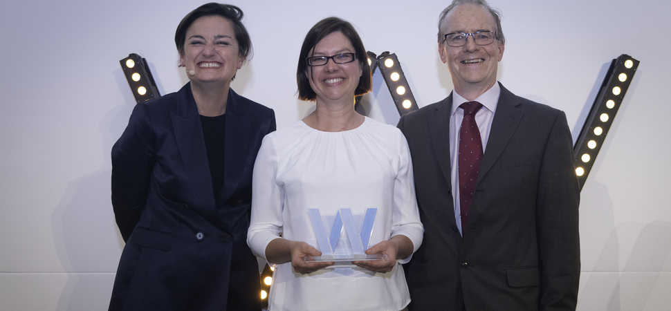 Naomi L'Estrange is named Trustee of the Year
