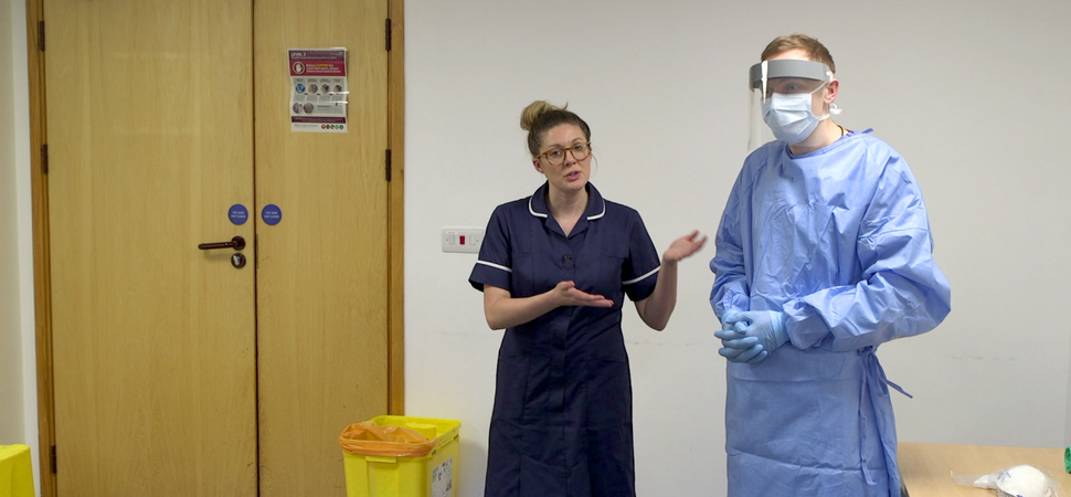 Bury business supports NHS with PPE informational videos