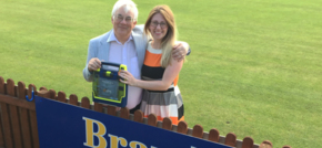Bramhall cricket club welcomes defib donation
