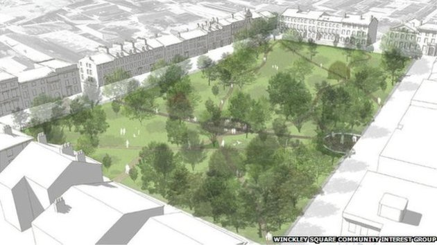 Preston's Winckley Square receives £1m regeneration boost