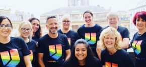 Broudie Jackson Canter supports Pride for the fourth consecutive year