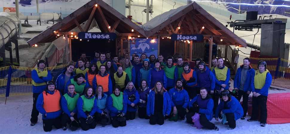 Prodo hits the slopes for strategy day